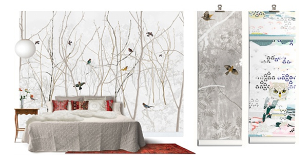 Wall murals photo wallpaper wall art photowall for Designer wall mural