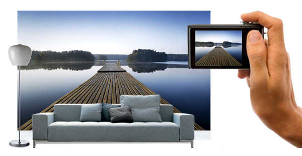 Wall murals photo wallpaper wall art photowall for Create your own mural